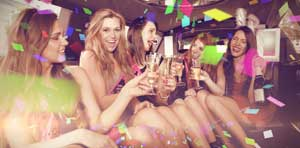 Limousine for Birthday Party